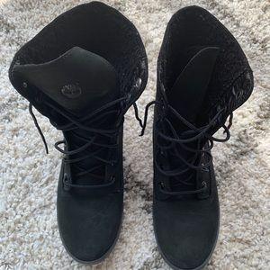 NWOT Timberland Suede/Fleece Boots